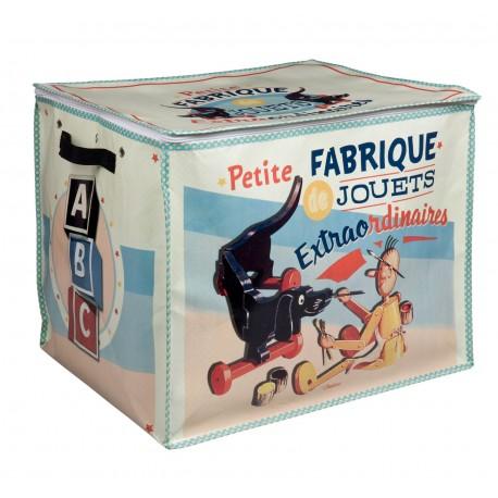 """Opbevaringskasse """"Fabrique de jouets"""""""