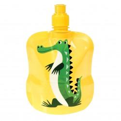 Foldbar vandflaske - Harry the Crocodile