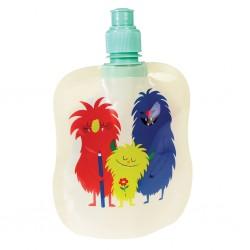 Foldbar vandflaske - Monsters