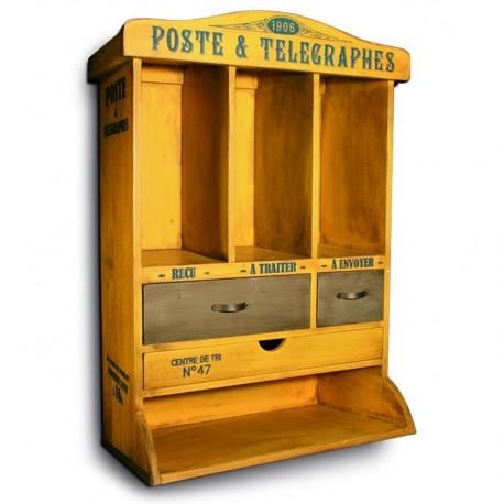 Postkasse - gul