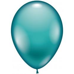 Balloner, aqua - Ø 28-30 cm - 10 stk.