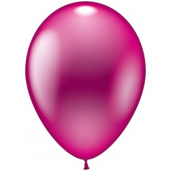 Balloner, pink metallic - Ø 28-30 cm - 10 stk.