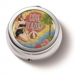 """Lommeaskebæger """"Côte d'Azur"""""""