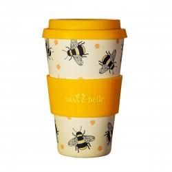 Genanvendelig kaffekop - Busy Bees