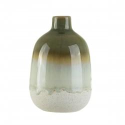 Mojave vase - H11,5 cm - Grøn