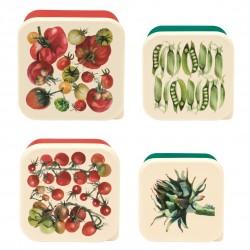 Madkasser - Vegetable Garden - 4 stk.