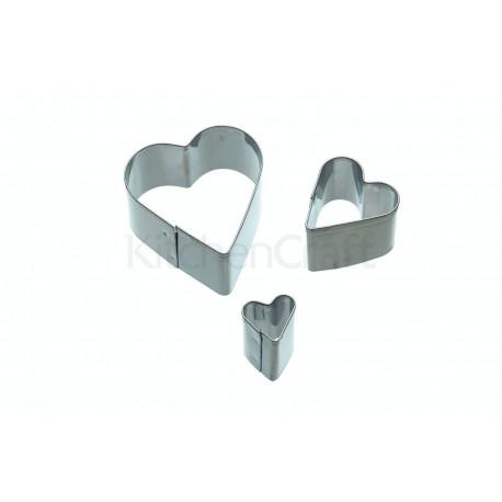 Mini-udstikkere - Hjerte