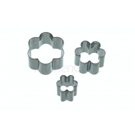 Mini-udstikkere - Blomster