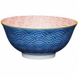 Skål - Blue Arched Pattern