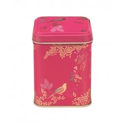 Lille firkantet dåse - Pink Birds
