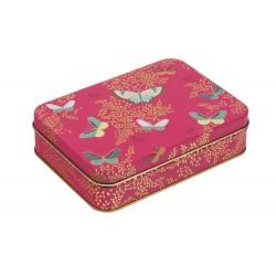Metaldåse - Pink Butterfly