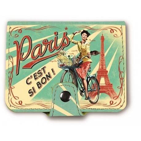 """Kortholder """"Paris Paulette"""""""
