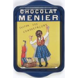 Lille metalbakke - Chocolat Menier