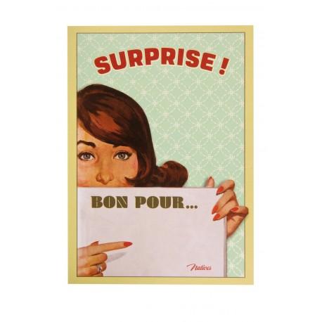 "Postkort ""Bon pour..."""