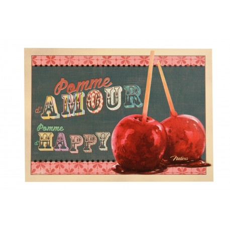 """Postkort """"Pomme d'amour"""""""