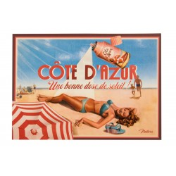 "Postkort ""Côte d'Azur"""