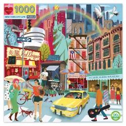 eeBoo puslespil - New York - 1000 brikker