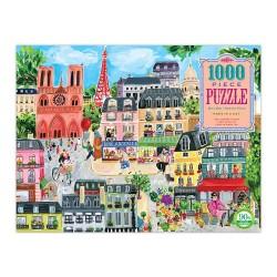 eeBoo puslespil - Paris - 1000 brikker