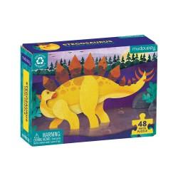 Mudpuppy minipuslespil - Stegosaurus - 48 brikker