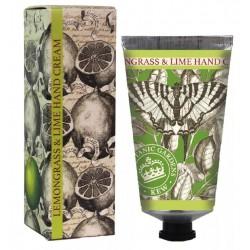 Kew Hand Cream - Citrongræs/Lime - 100 ml.
