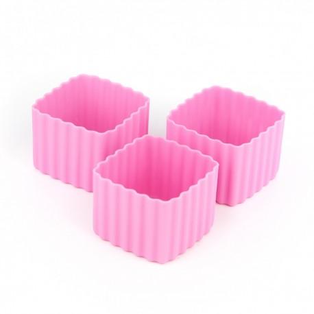 Bento Cups - Kvadrater - Pink