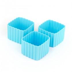 Bento Cups - Kvadrater - Blå