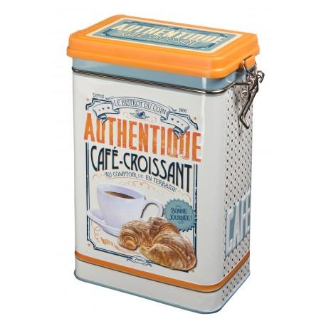 """Kaffedåse """"Café croissant"""""""