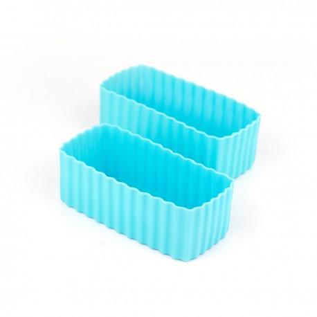 Bento Cups - Rektangulære - Blå