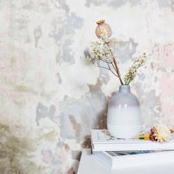 Mojave vase - H12,5 cm - Grå