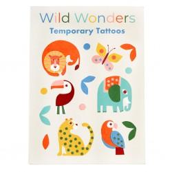 Tatoveringer - Wild Wonders (2 ark)