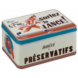 Opbevaringsdåse til prævention