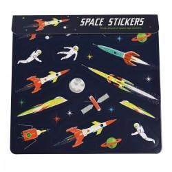Klistermærker - Space Age (3 ark)