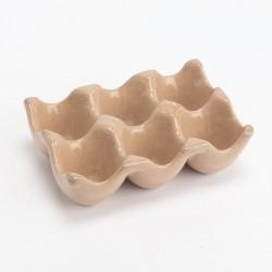 Æggebakke i keramik
