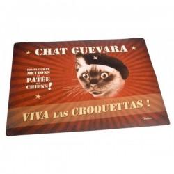 """Spisemåtte til katte """"Chat Guevara"""""""