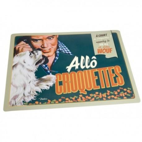 """Spisemåtte til hunde """"Allô croquettes"""""""