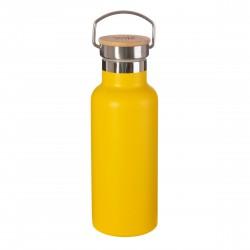 Gul drikkeflaske - Rustfri stål