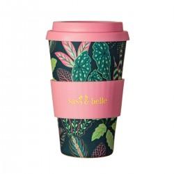 Genanvendelig kaffekop - Variegated Leaves