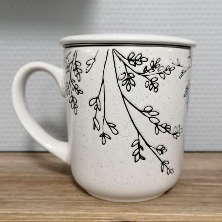 Krus med låg og tefilter - Alize