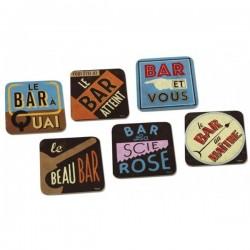 "Drikkebrikker ""Enseignes Bar"""