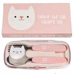 Bestiksæt - Cookie the Cat