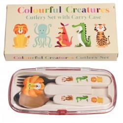 Bestiksæt - Colourful Creatures