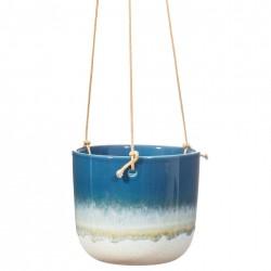 Mojave hængepotte - Ø11,6 cm - Blå