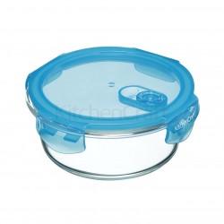 KitchenCraft rund glasbeholder m. låg - 600 ml