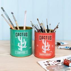 Opbevaringsdåser - Cactus - 2 stk.
