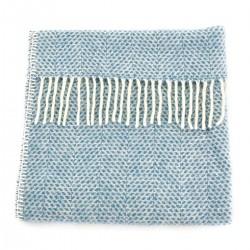 Tweedmill babytæppe - Beehive Blue - 68x73 cm