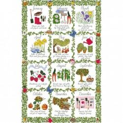Ulster Weavers viskestykke - Gardeners Calendar