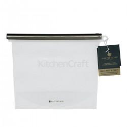 Genanvendelig madpose - 1500 ml
