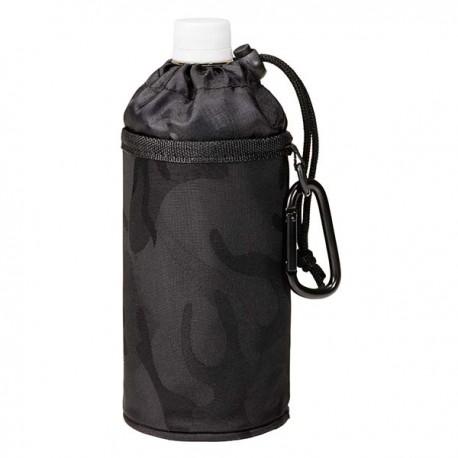 Køletaske t. flaske - Sort camouflage