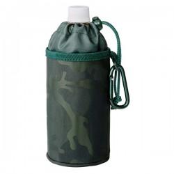 Køletaske t. flaske - Grå camouflage
