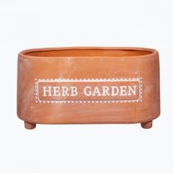 Terracotta potteskjuler - Herb Garden
